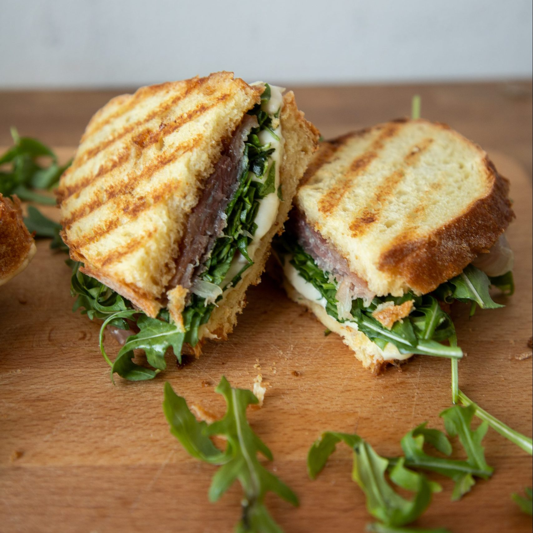 A classic Italian sandwich with a twist for a perfectly sweet and salty lunch!   Teaspoon of Nose