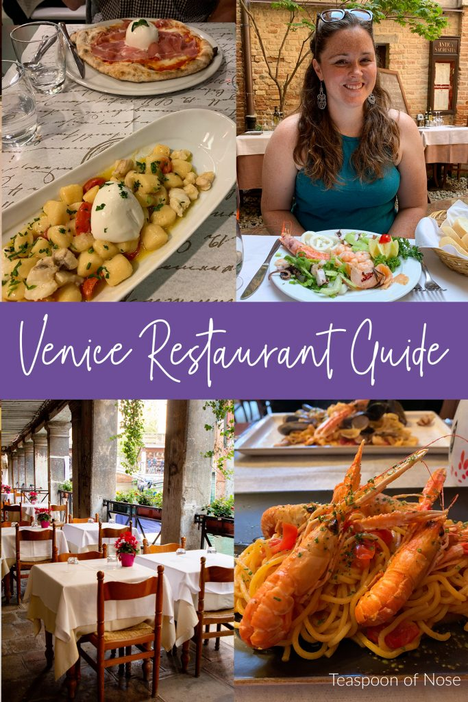 Some of my favorite restaurants in Venice to make sure you get the best meals on the island and skip the touristy spots! From cheap eats to ... | Teaspoon of Nose