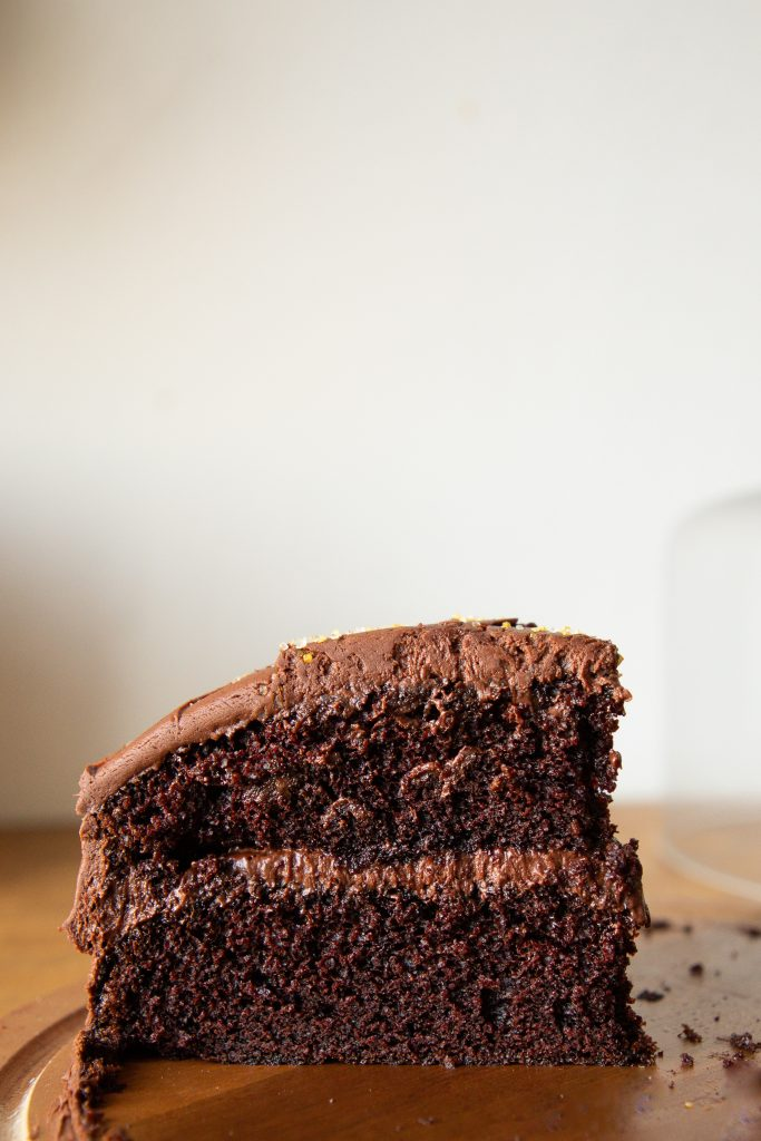 The best chocolate cake is also super easy to toss together, making is possibly the best cake ever!