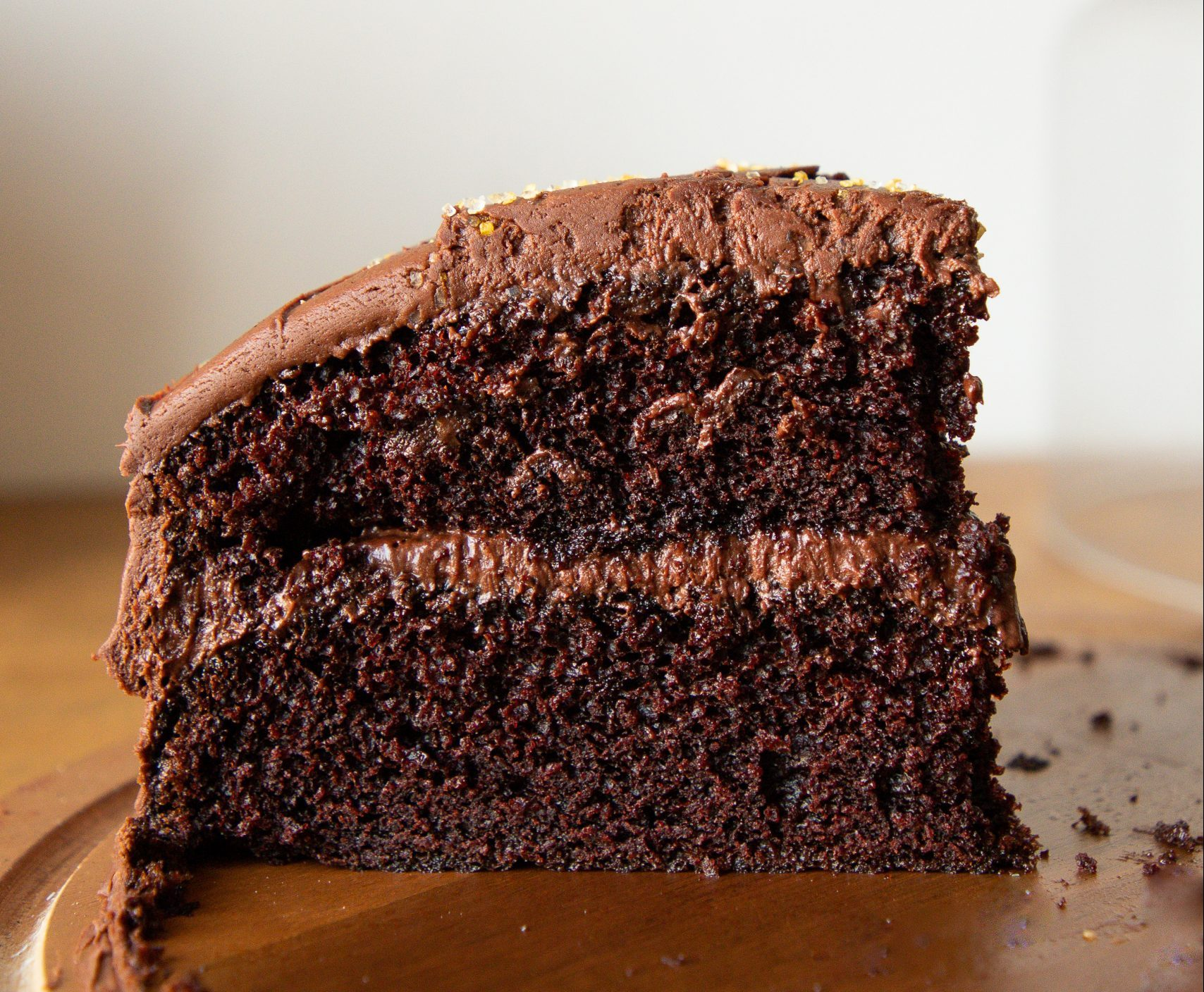 The best, most moist chocolate cake you'll ever taste!