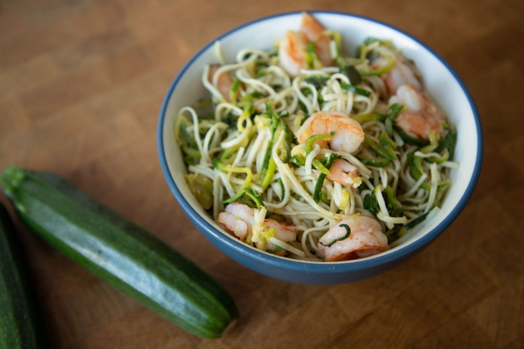 Zucchini sage pasta is one of those perfect dinners that works as a weeknight meal or dresses up for date night!