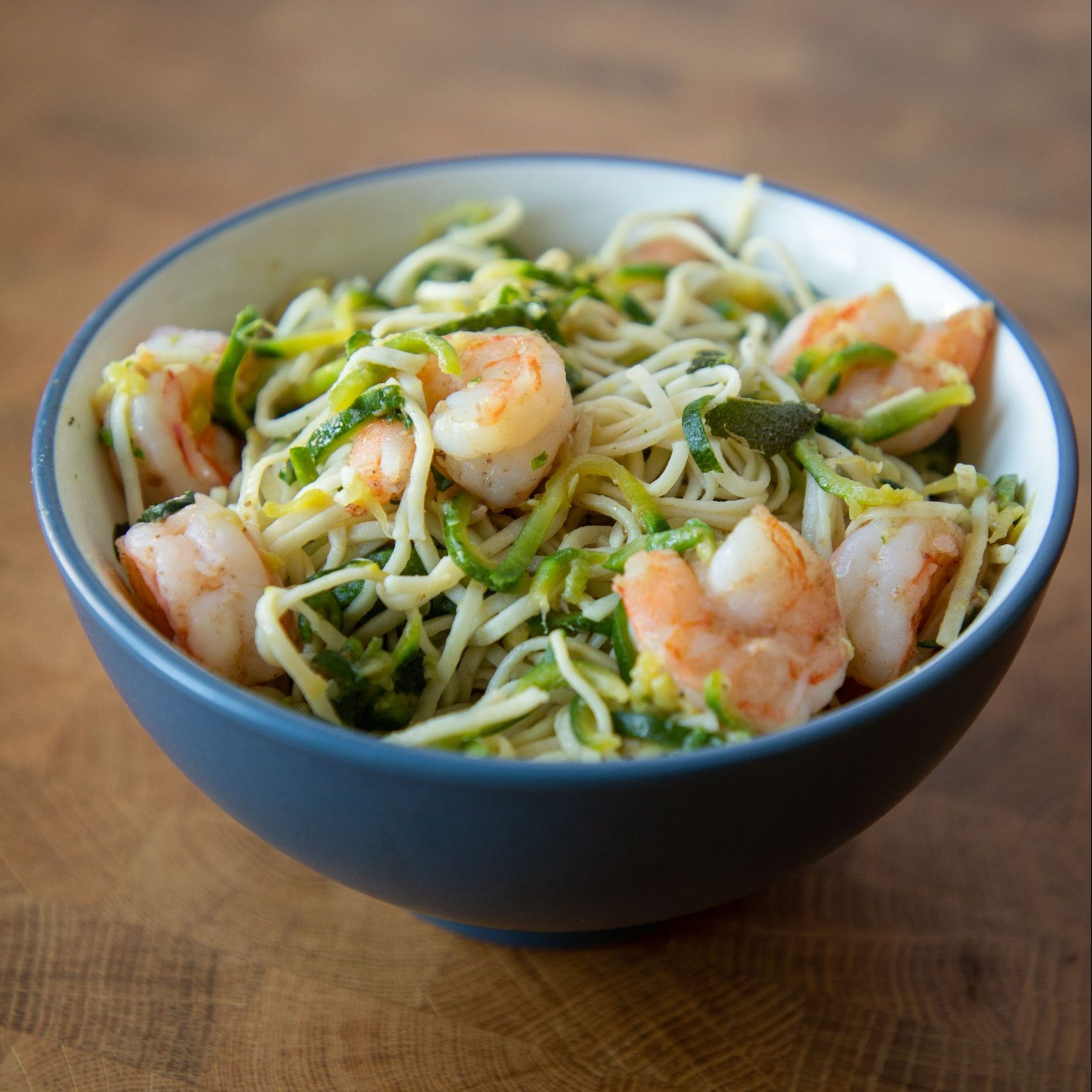 This dish combines that great bite of pasta with zucchini noodles!   Teaspoon of Nose