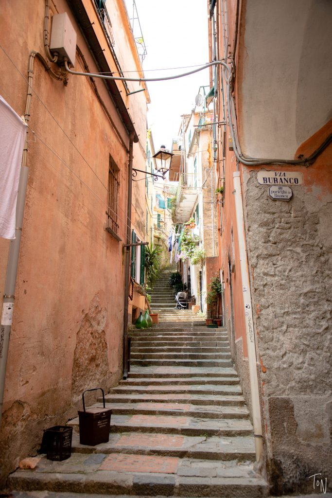 Monterosso old town