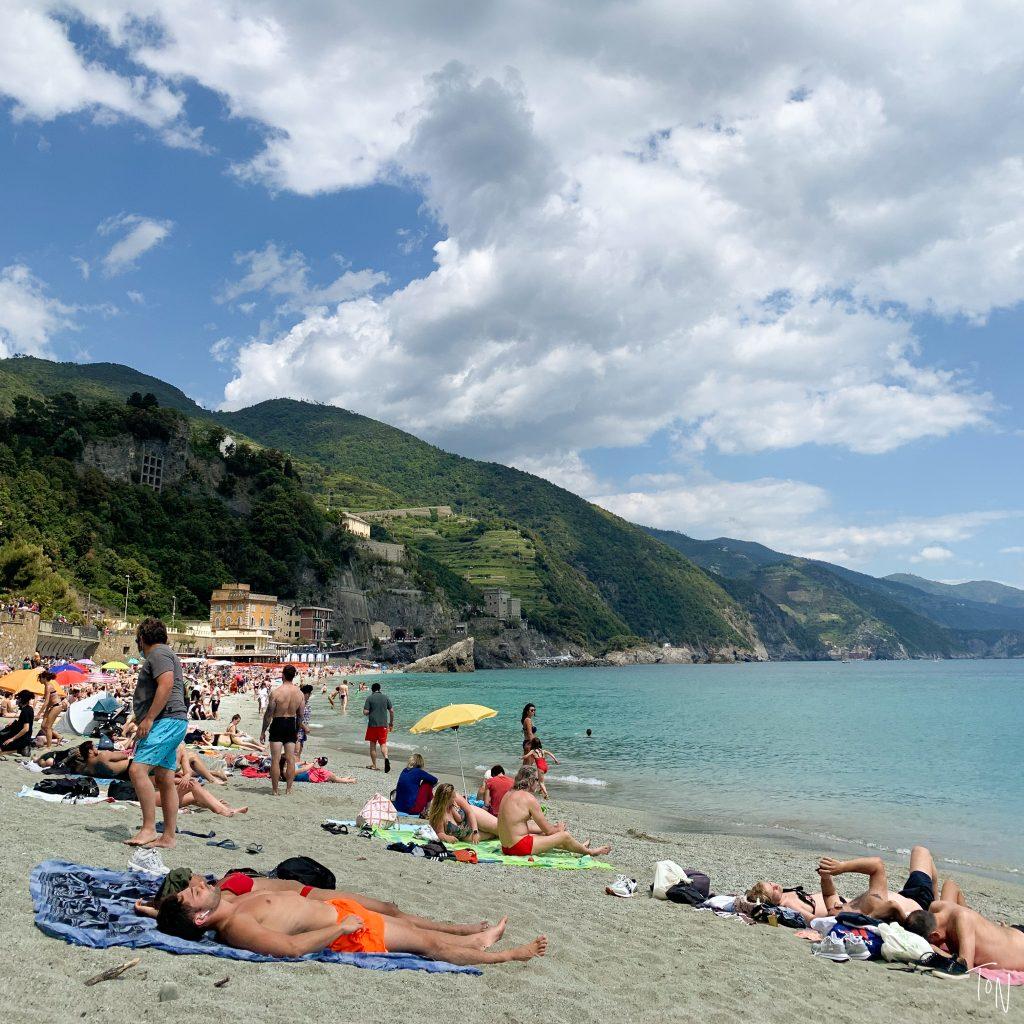 Cinque Terre Monterosso al Mare beaches