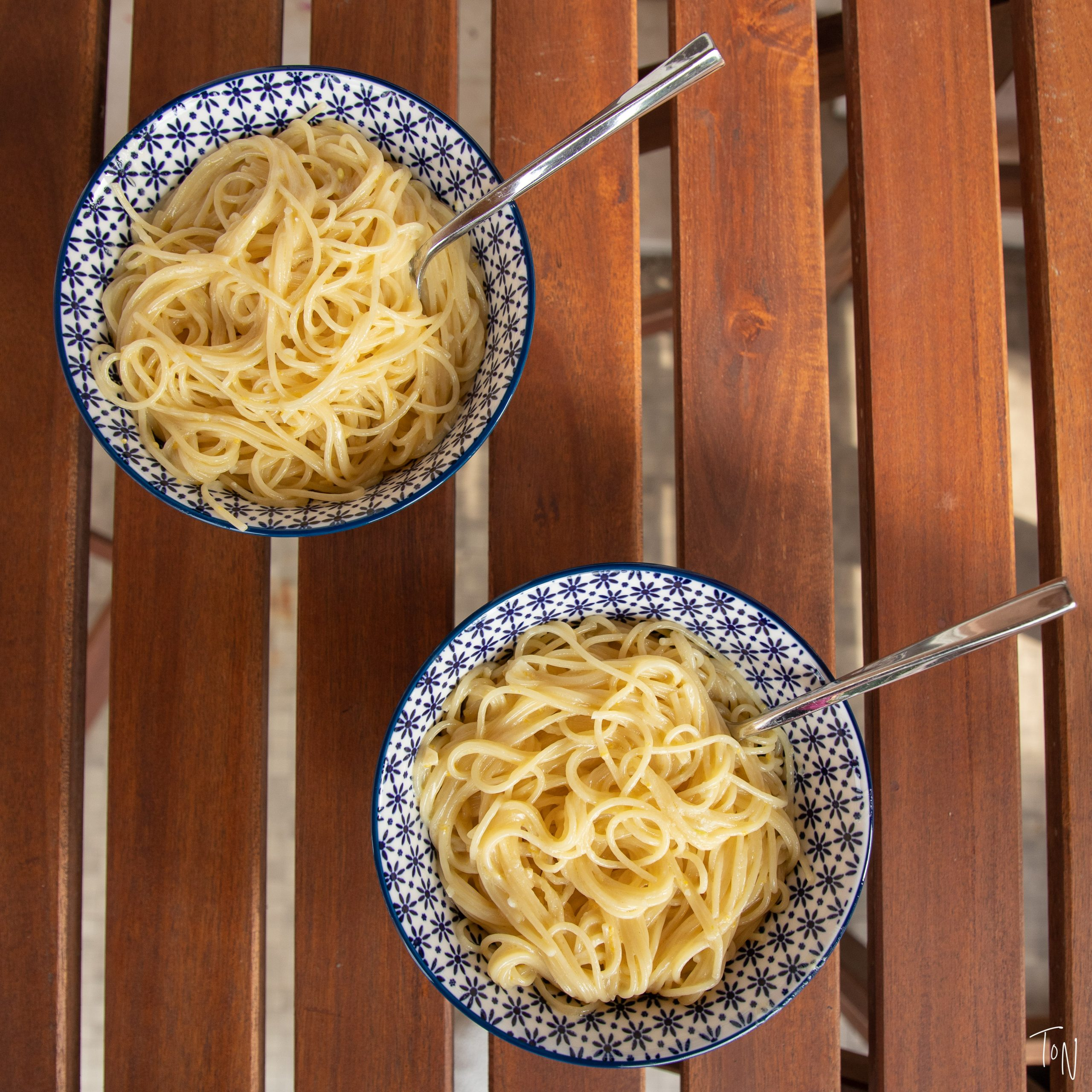 A perfect summer bowl of pasta, ready in 15 minutes!   Teaspoon of Nose