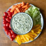 Hot spinach dip is the best appetizer for hosting - it's delicious, crave-able, and super easy to whip up!