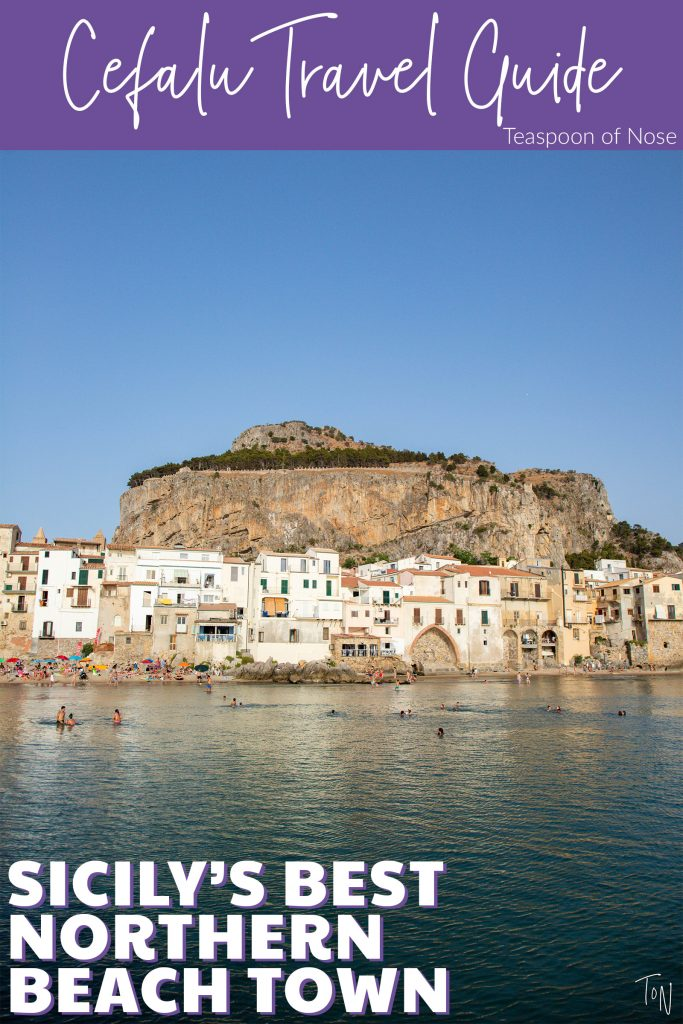Cefalù is one of Sicily's great beach towns, so here's what you need to know to enjoy it to the fullest! | Teaspoon of Nose